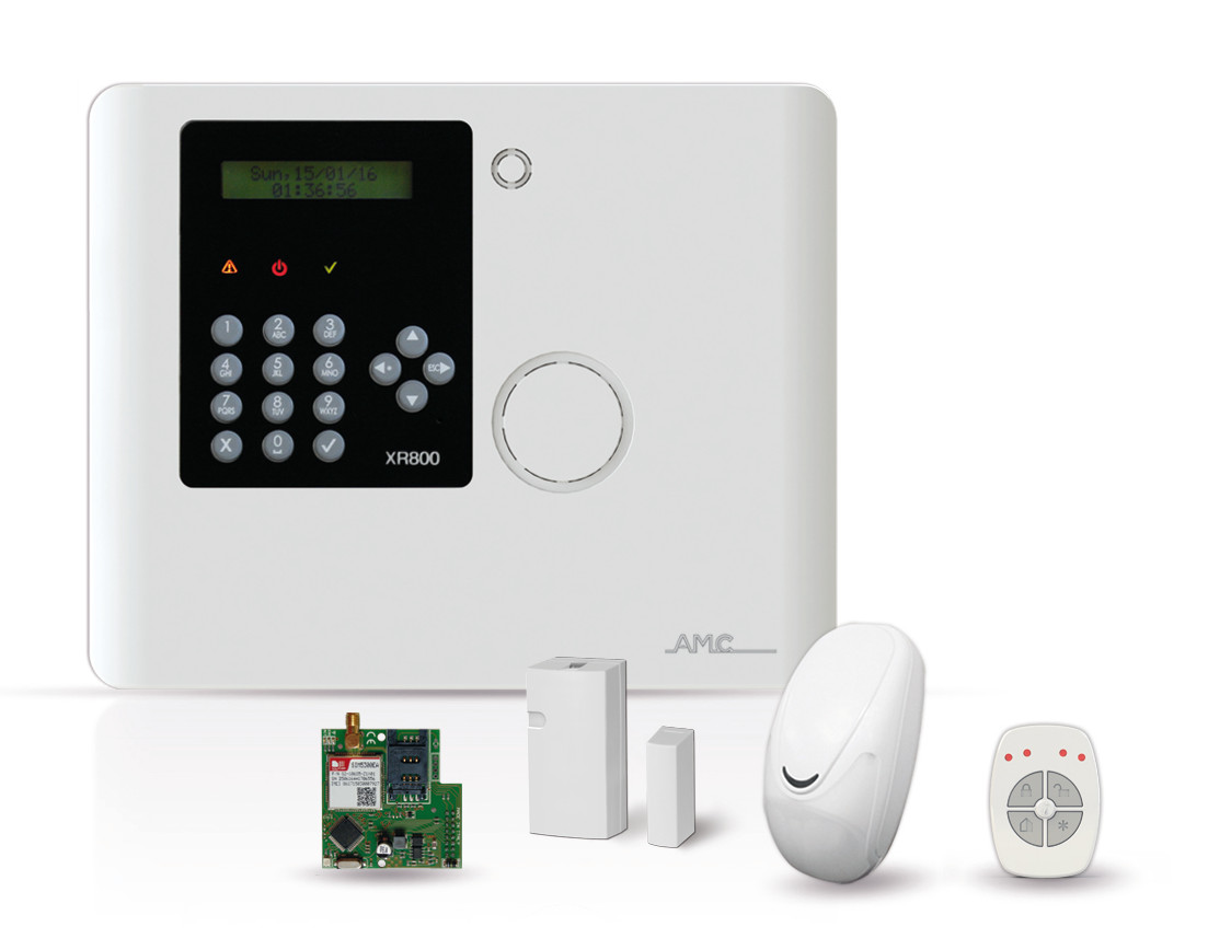 Set-Zentrale AMC Protect 800, GPRS 3G